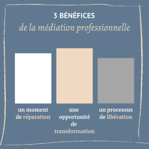 benefices médiation professionelle